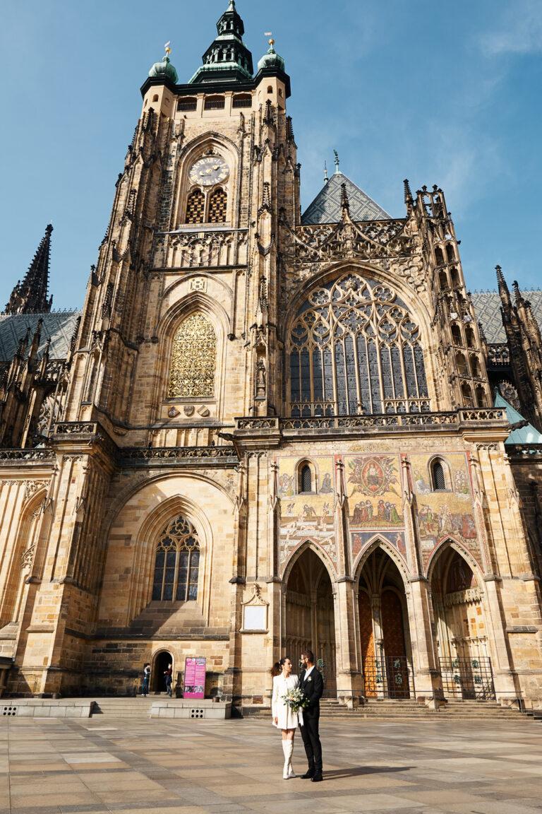 Prague castle photosession